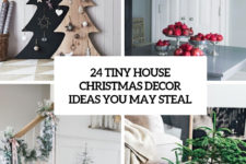 24 tiny house christmas decor ideas you may steal cover