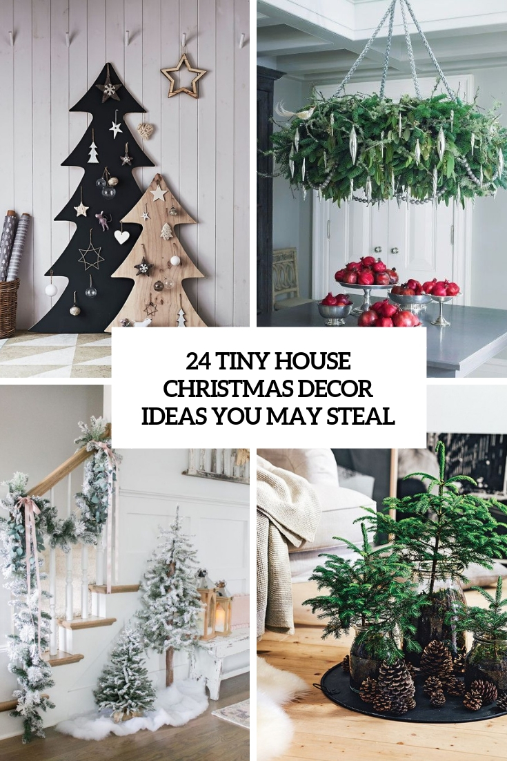 24 Tiny House Christmas Decor Ideas You May Steal