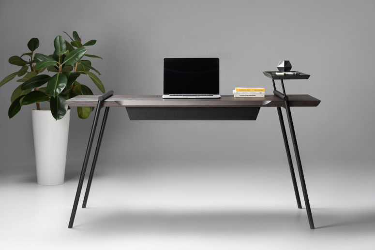 Modern And Sophisticated DUOO Writing Desk