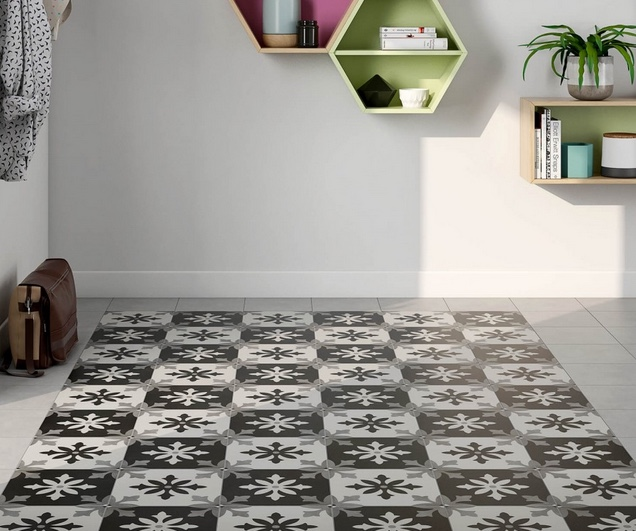 Bright and Catchy Mosaic Porcelain Tile Collection
