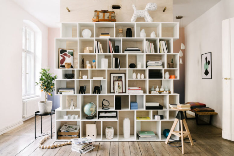 Completely Customizable Tylko Type 02 Shelving Unit