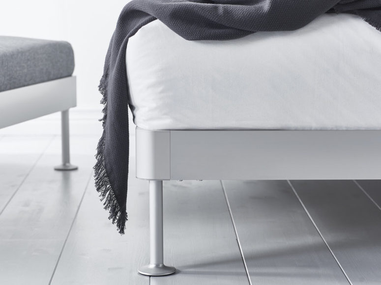 The bed design is based on the Delaktig seating collection, which was created last year