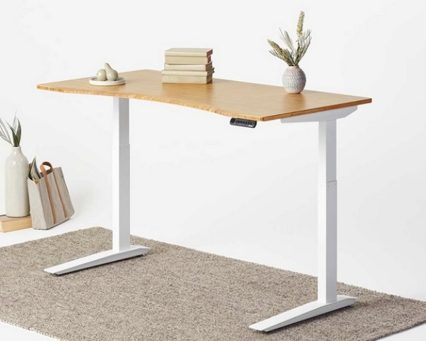 The desk is eco-friendly, no chemicals were used to make it and no harmful stains either