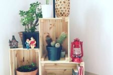 03 an IKEA Knagglig box storage unit for various stuff is an easy and fast DIY for every space