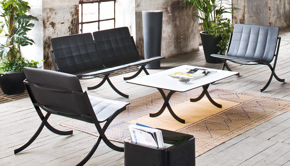 cool furniture for an outdoor space