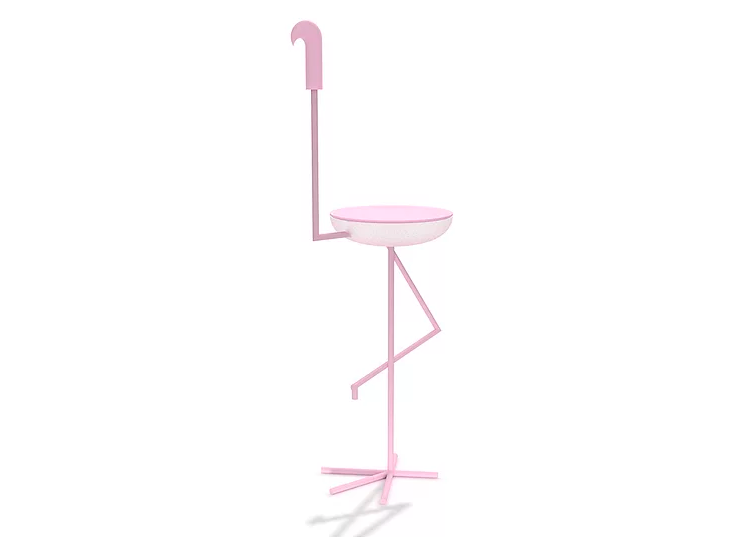 This is how you can transform your flamingo into a coffee table