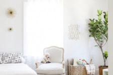 04 beautiful neutrals layered on each other are a cool idea to rock, add wicker and wood for more coziness