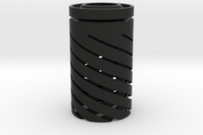 all black pendant lamp design