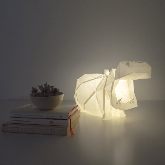 Hippo lamp looks very impressive and catchy