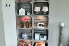 06 a whitewashed Knagglig box storage unit is a comfy idea for many interior styles