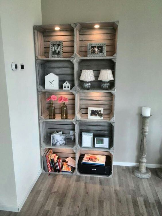 a whitewashed Knagglig box storage unit is a comfy idea for many interior styles