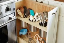 concealed kitchen storage should be used the right way