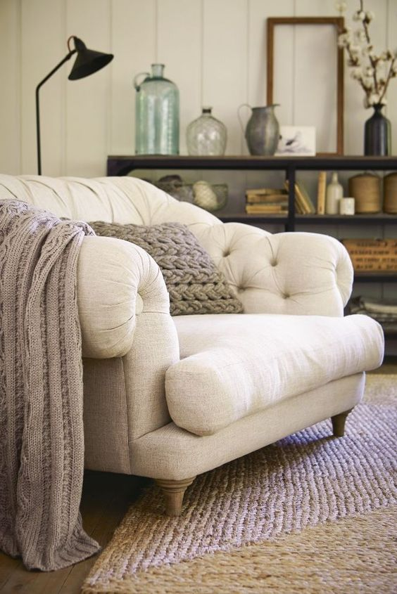 such a big and comfy chair will not only make a statement but will also become a cool reading nook base