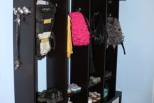 15 an Expedit mudroom locker with Drona boxes looks stylish, sleek and is comfy in using