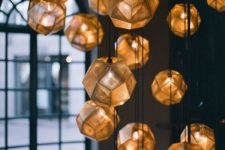 stylish pendant clustered lamps