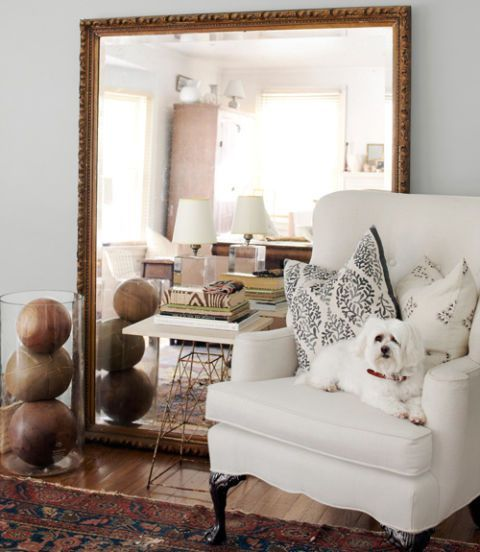 choose a frame according to your interior style or just add a sophisticated touch using vintage items