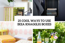 25 cool ways to use ikea knagglig boxes cover