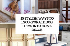 25 stylish ways to incorporate dog items into home decor cover