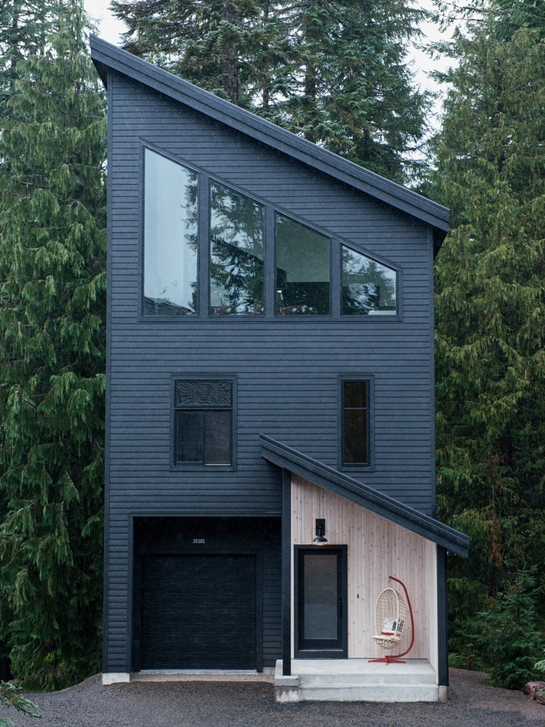 This Alpine Noir chalet was done with an influence of Dutch homes as the owners lived there for several years