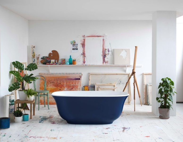 Victoria + Albert Colorful Bathtubs For Modern Homes
