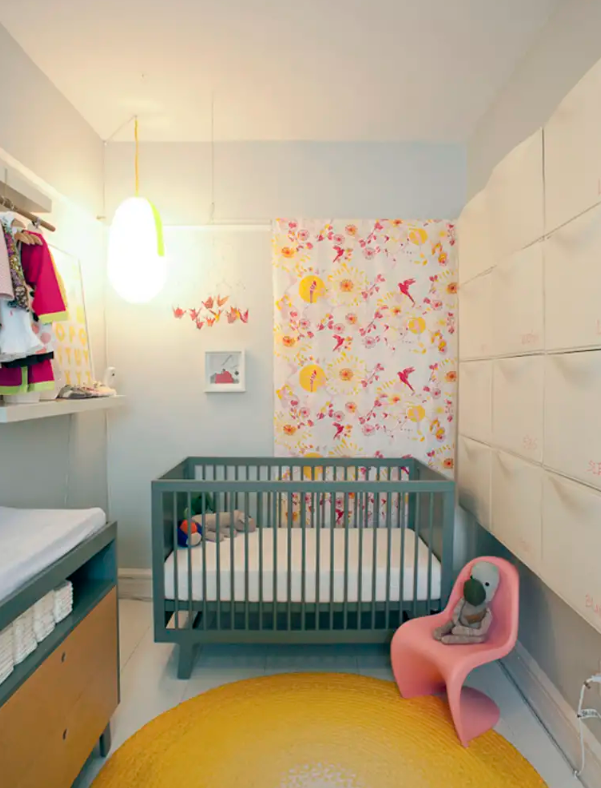 use IKEA Trones in a nursery to store all the stuff that you and your kid may need