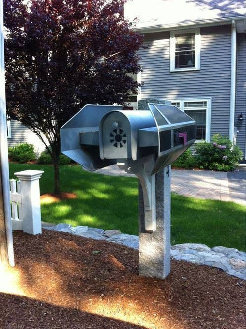 Star Wars Tie Bomber mailbox is a cool DIY project that will personalize your mailbox in a very bold and catchy way