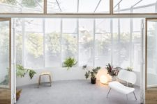 an awesome sunroom-like balcony design