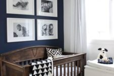 16 a vintage-inspired wooden crib is a chic statement for a nursery and will fit any gender