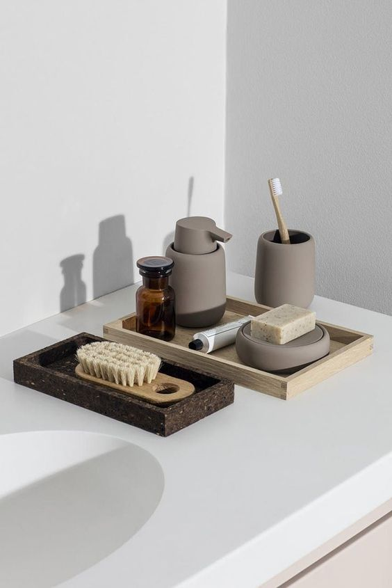 cool accessories will make your bathroom look like a real spa