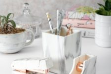 24 stylish desk accessories are a must for every home office, craft or buy a whole set