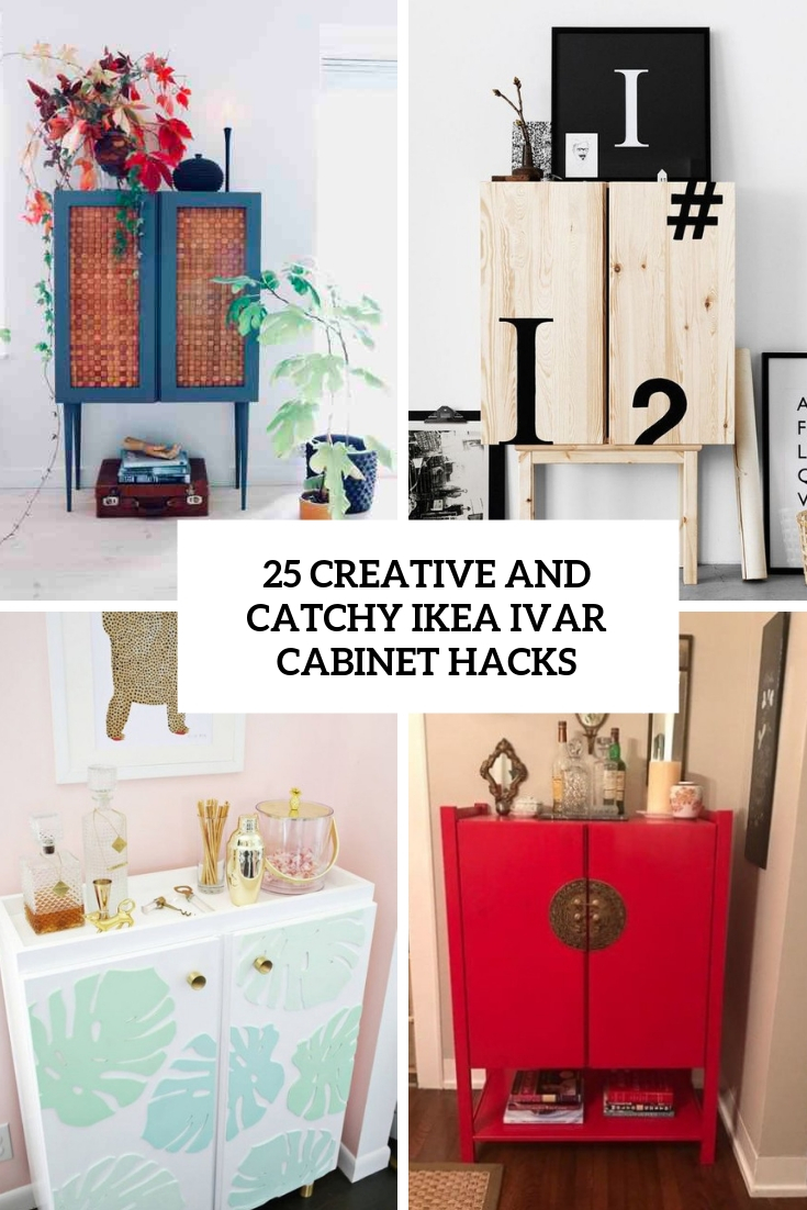25 Creative And Catchy IKEA Ivar Cabinet Hacks