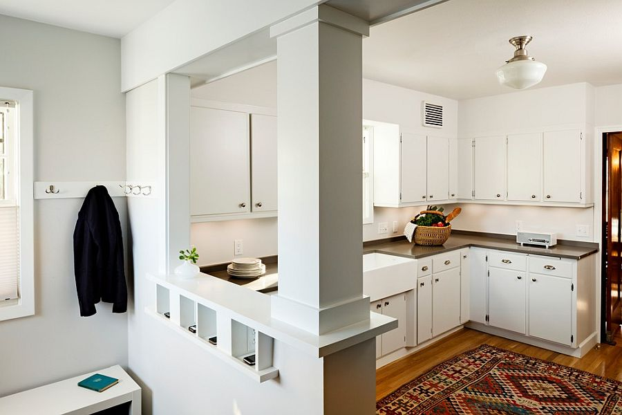 a little nook with charging points in the kitchen to keep you connected at all times