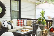 15 wicker furniture always brings a relaxed feel to the deck and it will serve you for years