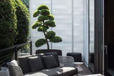 18 such wicker furniture will bring an outdoor feel indoors and will make your outdoor space more inviting