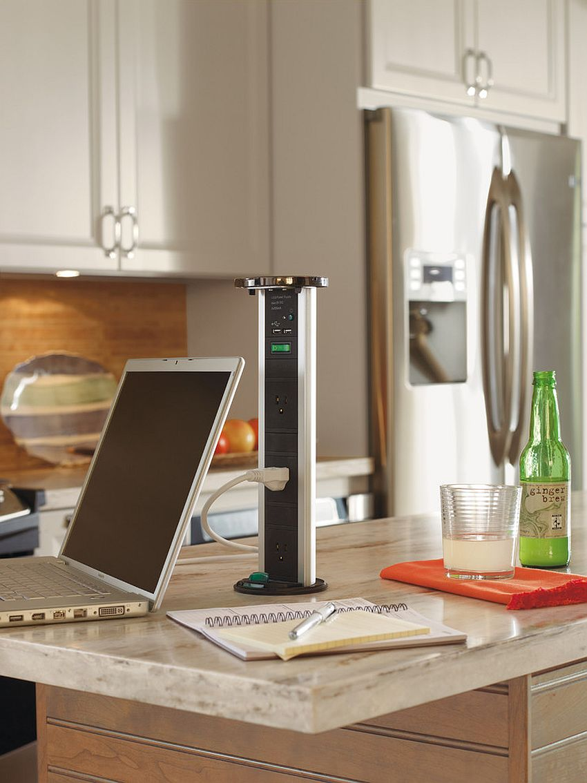 a stylish mobile charging station can be placed anywhere you want and it looks ultra modern