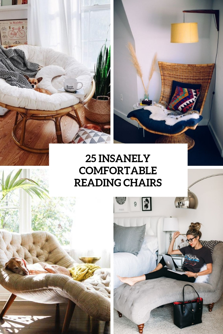 25 Insanely Comfortable Reading Chairs
