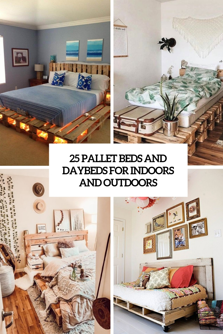 25 Pallet Beds And Daybeds For Indoors And Outdoors