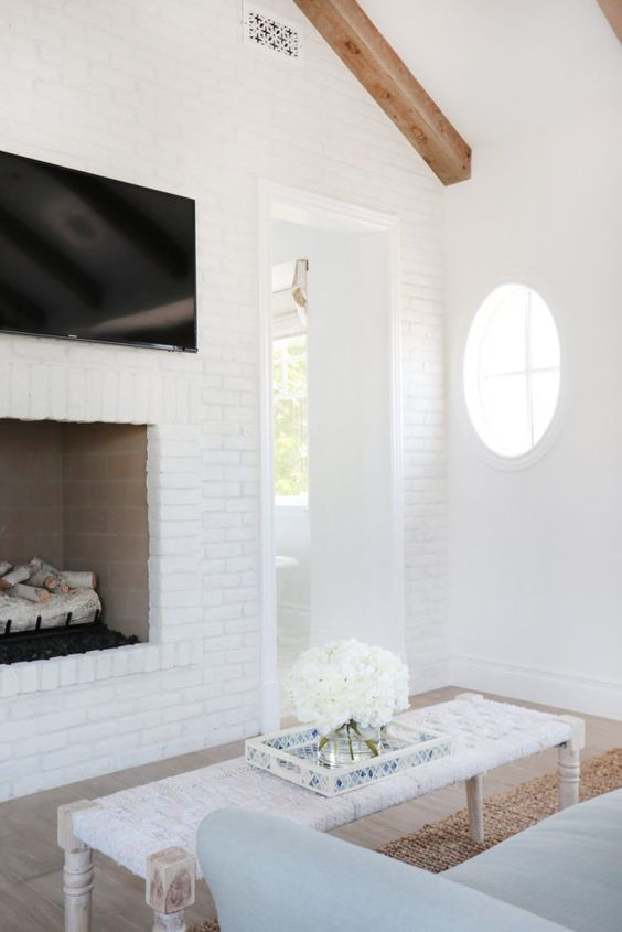 25 White Brick Walls And Ways To Use Them Digsdigs