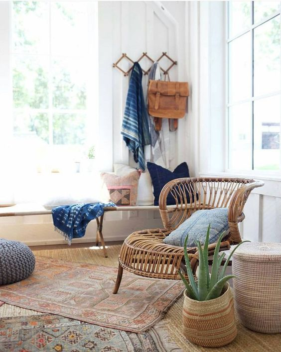 boho layered rugs are a popular decor idea for every boho space, rock different looks and colors