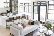 an open layout is always practical in a multigenerational home