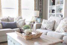 18 incorporate storage spaces everywhere you can – don't forget usual items like coffee tables