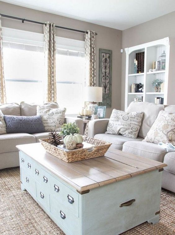 incorporate storage spaces everywhere you can - don't forget usual items like coffee tables