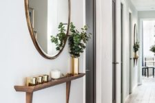 21 some aroma candles placed on a ledge will make your entryway more welcoming and inviting