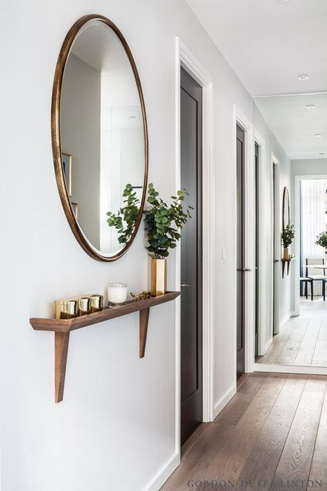 some aroma candles placed on a ledge will make your entryway more welcoming and inviting