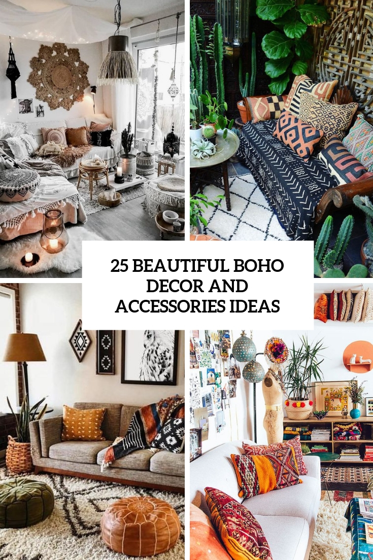 25 Beautiful Boho Decor And Accessories Ideas