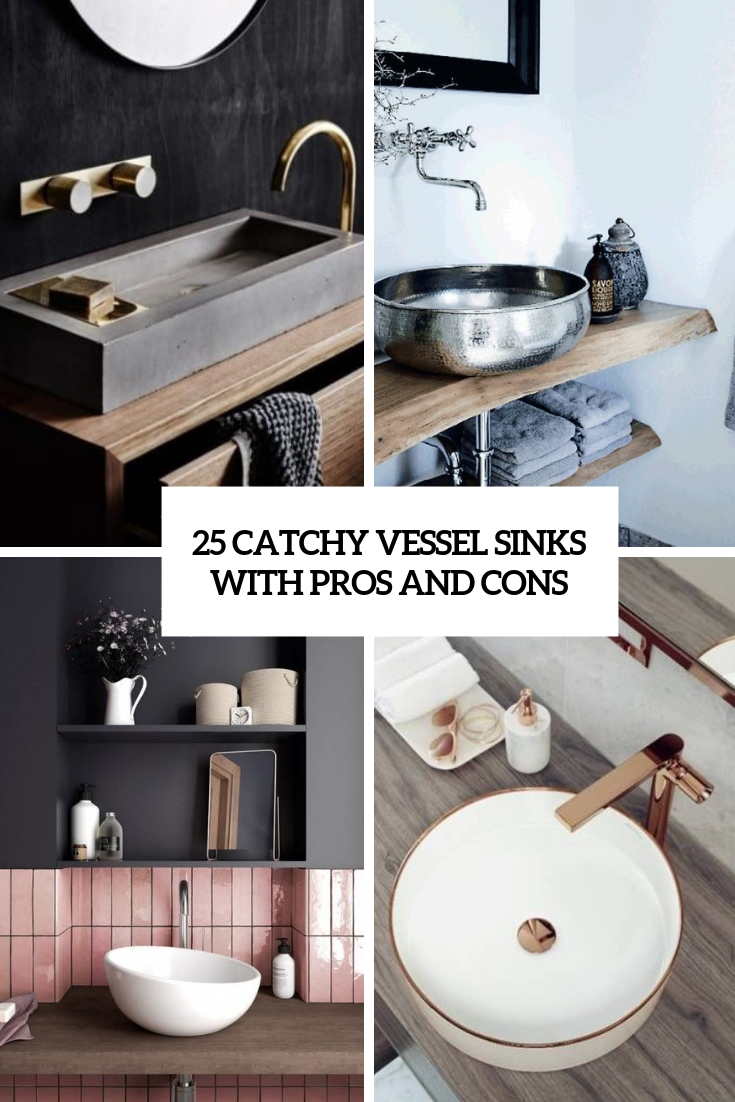 catchy vessel sinks with pros and cons cover