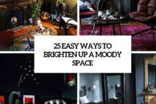 25 easy ways to brighten up a moody space cover