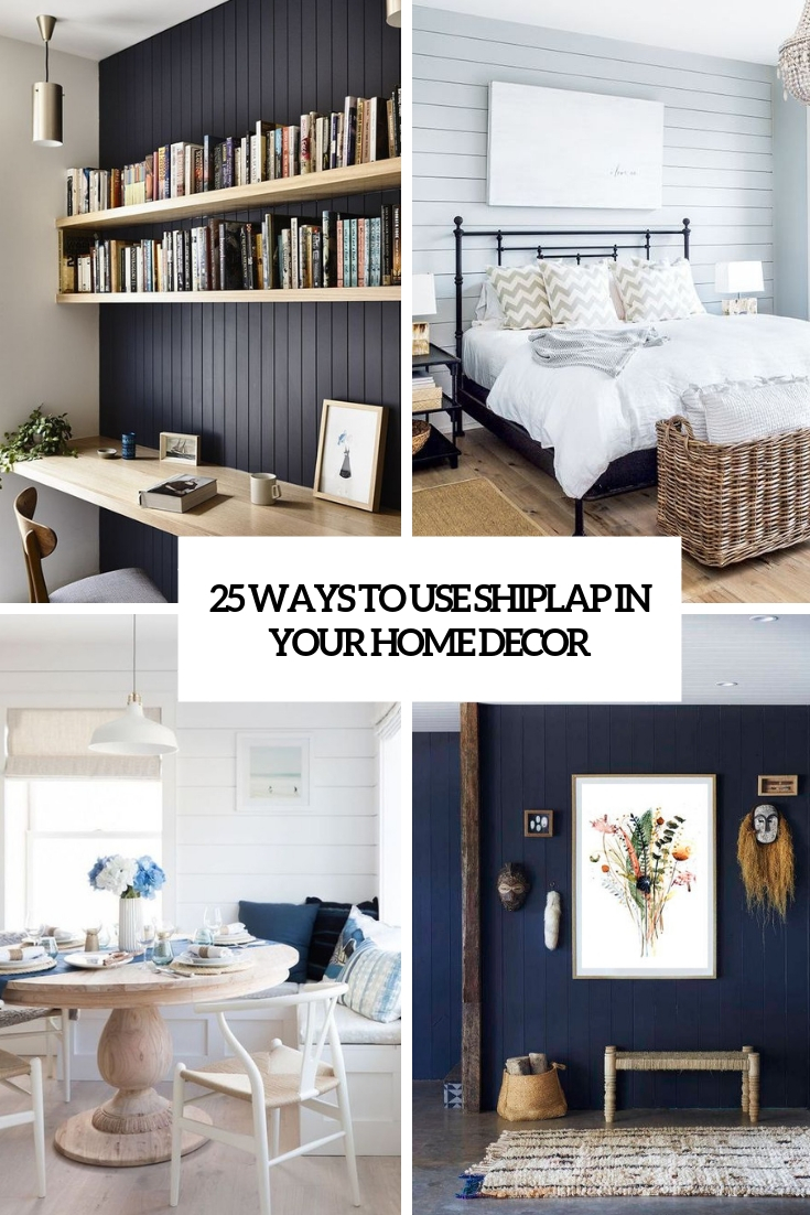 ways to use shiplap in your home decor cover