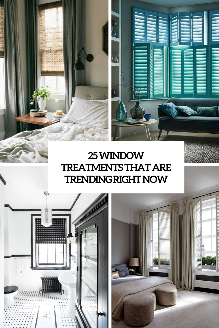 window treatments that are trending right now cover