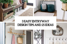 3 easy entryway design tips and 25 ideas cover
